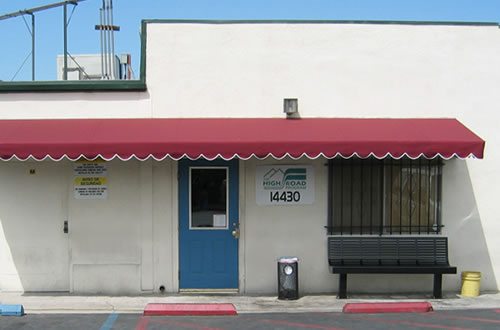 The High Road Program's Van Nuys Office
